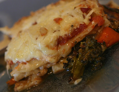 Lasagne aux légumes grillés - Cinq Fourchettes