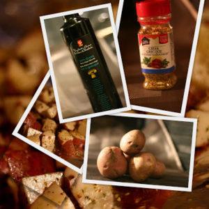 Pommes de terre à la grecque - Cinq Fourchettes