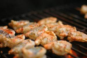 crevettes à la Cajun - Cinq Fourchettes
