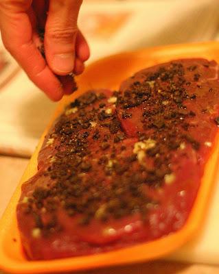 Steaks au café - Cinq Fourchettes