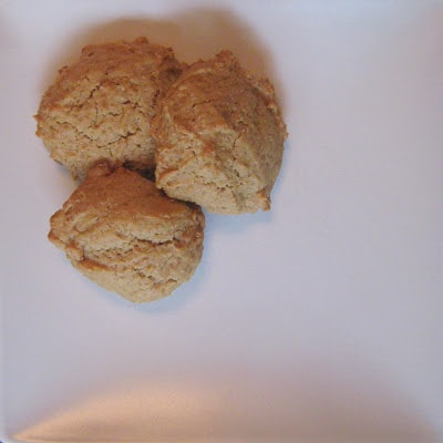 Biscuits au beurre d'arachides - Cinq Fourchettes