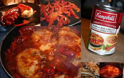 Côtelettes de porc à la sauce tomate - Cinq Fourchettes