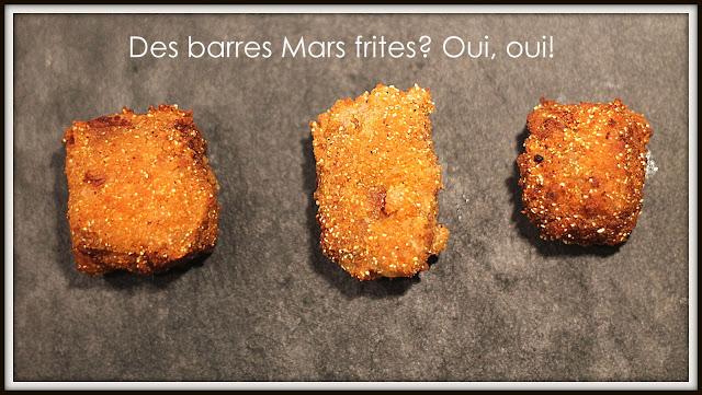 Barres Mars frites - Cinq Fourchettes