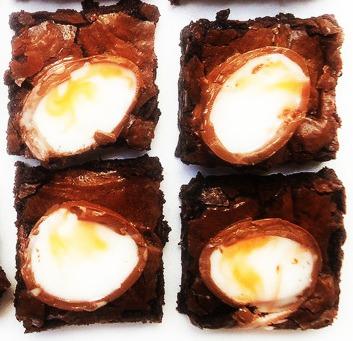 Brownies aux oeufs Cadbury
