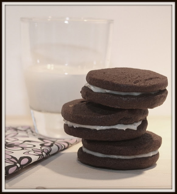 Biscuits Oreo maison