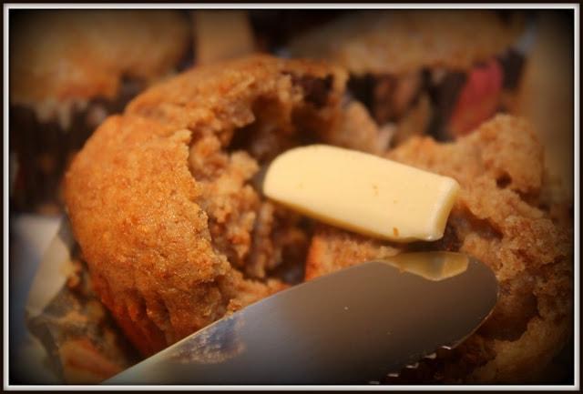 """Muffins banane et chocolat """"coup de pouce à la régularité"""" - Cinq Fourchettes"""