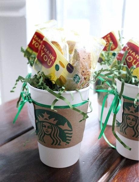 Idées cadeaux aux profs Café