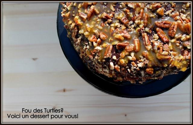 Gâteau Turtles Cinq Fourchettes