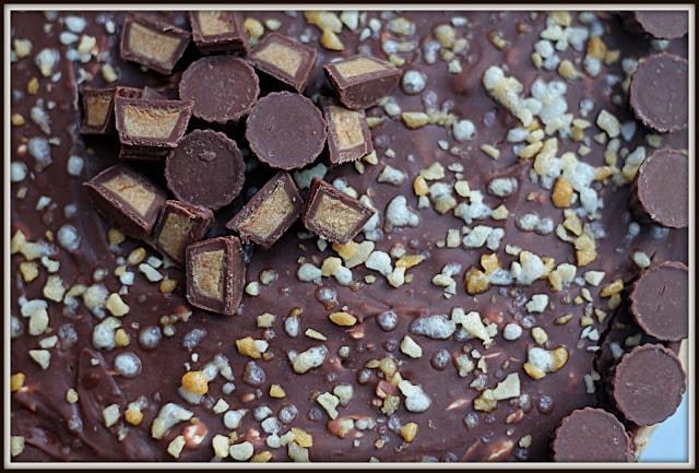 Gâteau Reese, Toblerone et Philadelphia - Cinq Fourchettes