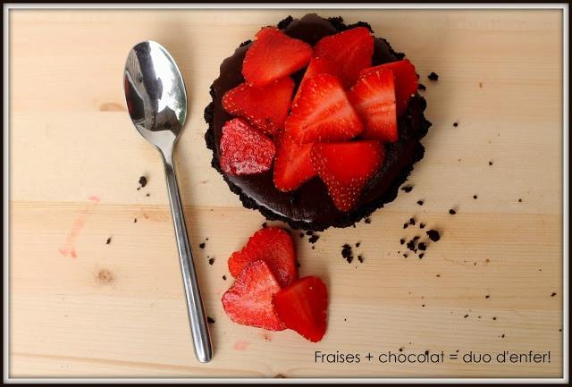 Fraises + Chocolat + Oréo : une recette qui mène au paradis / Cinq Fourchettes
