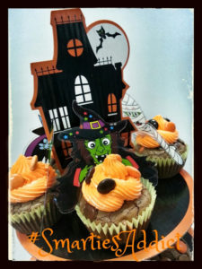 Brownies aux Smarties pour Halloween - Cinq Fourchettes