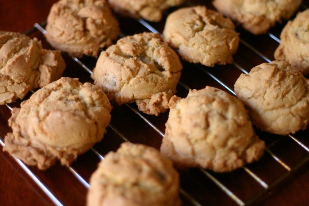 biscuits aux pépites de beurre d'arachide