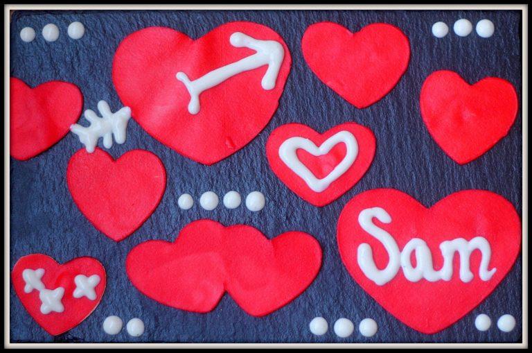 Des pâtes Olivieri en coeur pour célébrer la Saint-Valentin avec les enfants. - Cinq Fourchettes