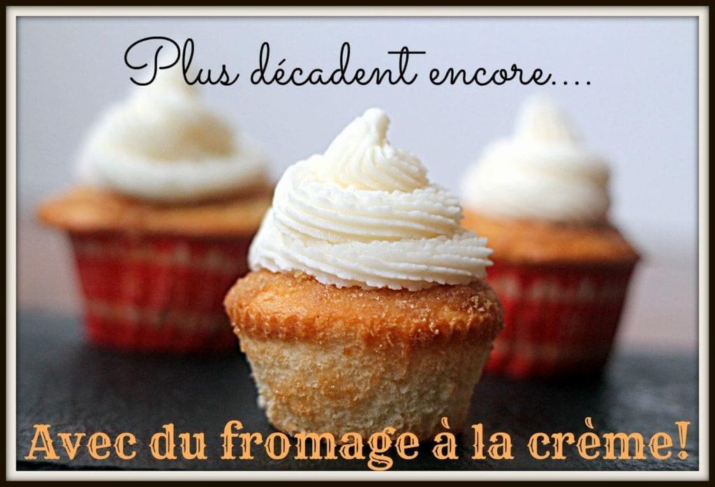 Cupcakes à la brioche à la cannelle #Cupcakes