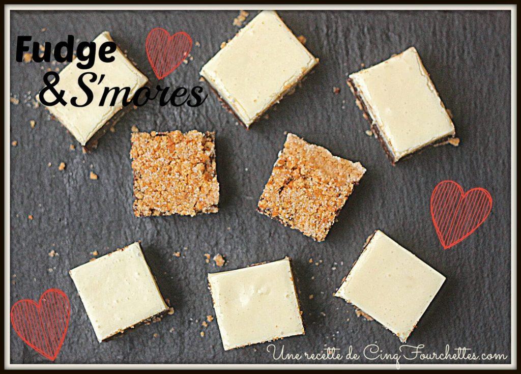Fudge aux S'mores! - Cinq Fourchettes