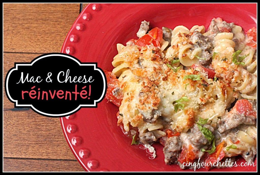 macaroni au fromage - Cinq Fourchettes