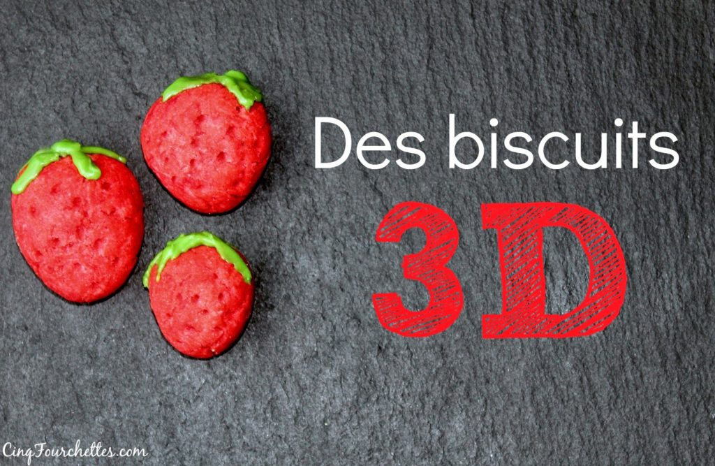 Des biscuits 3D amusants à faire en famille - Cinq Fourchettes