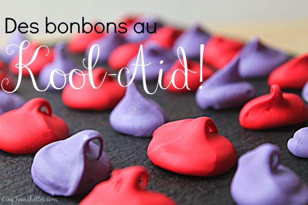Bonbons maison au Kool-Aid! - Cinq Fourchettes
