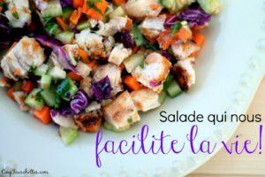 Et si on se simplifiait l'existence? Une salade pour les lunchs! - Cinq Fourchettes