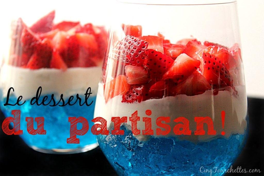 Les Canadiens en série : le dessert du partisan! - Cinq Fourchettes