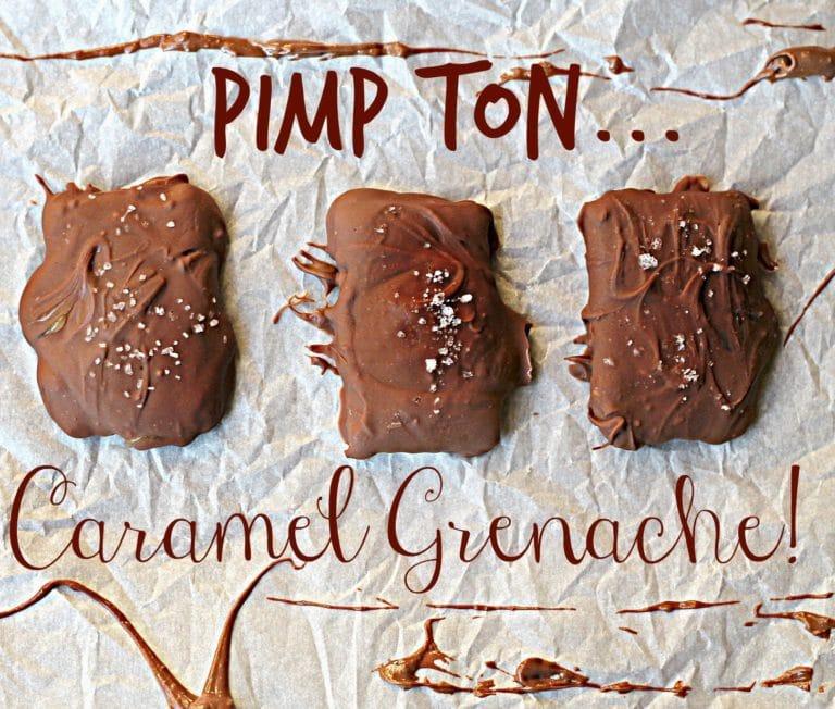 biscuits au chocolat fourrés au caramel et à la fleur de sel