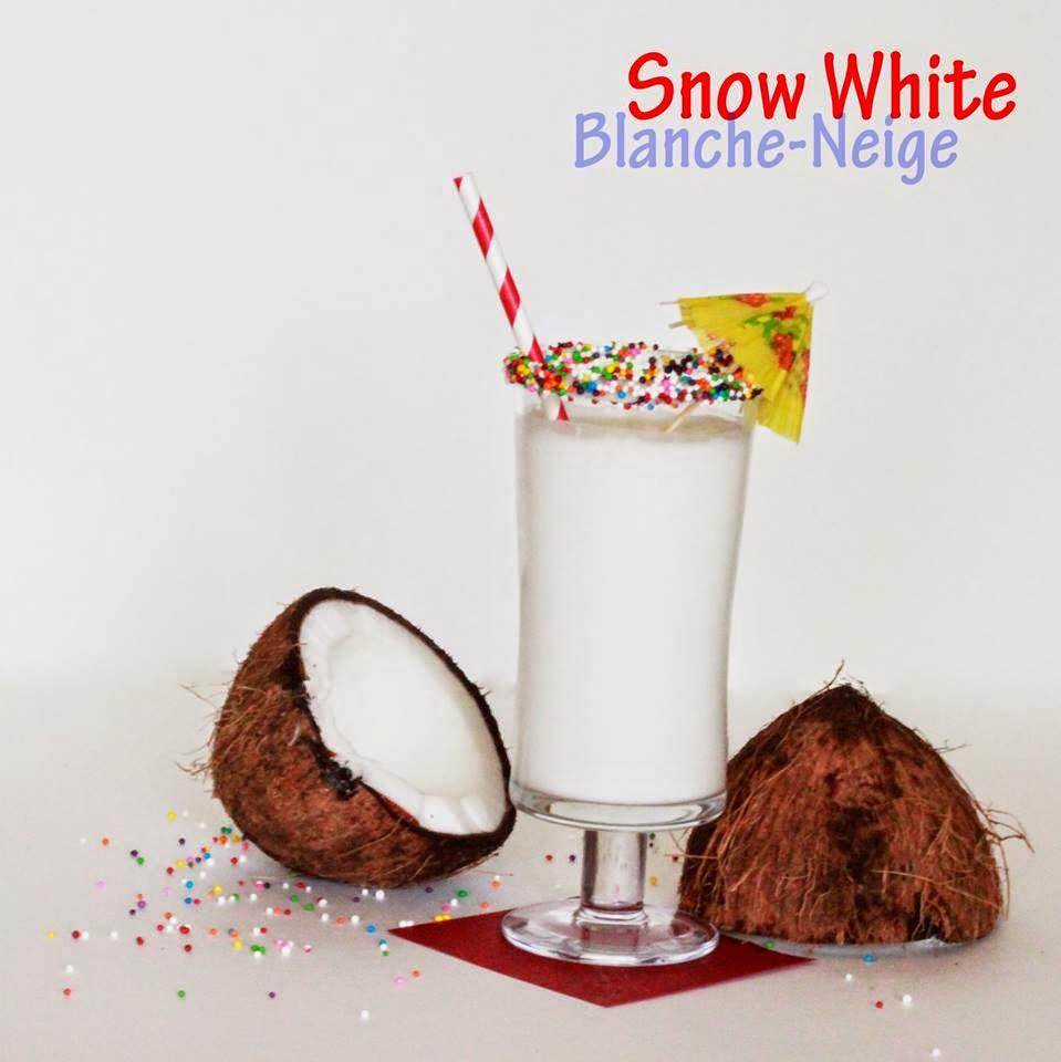 Un cocktail pour rendre hommage à l'hiver 2014 : le Blanche-Neige!