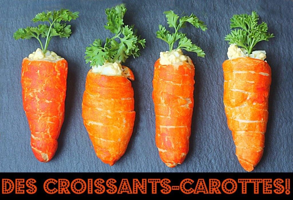 croissants-carottes Cinq Fourchettes