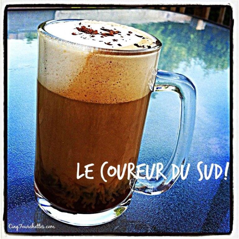 Café alcoolisé: Le Coureur du Sud! - Cinq Fourchettes