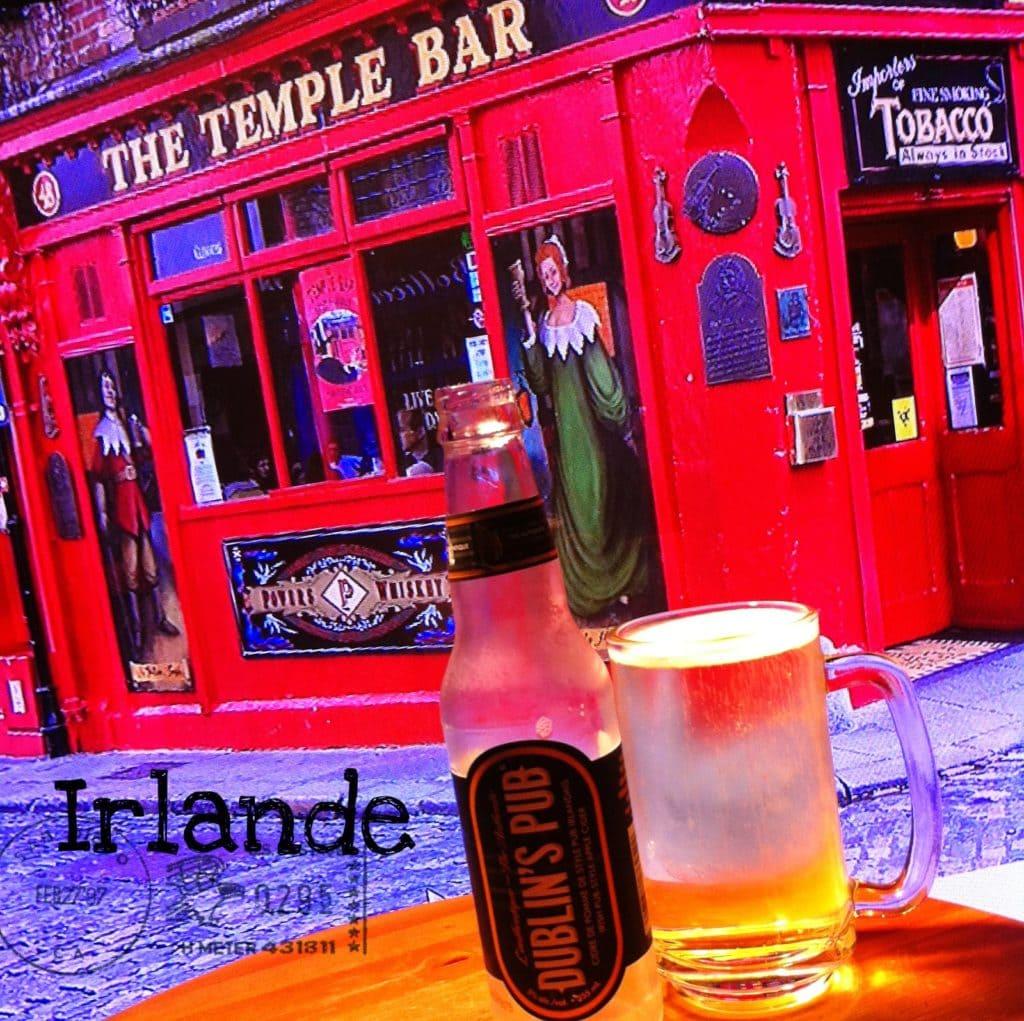Le tour du monde d'une fille cassée: Arrêt en Irlande avec du Dublin's pub -