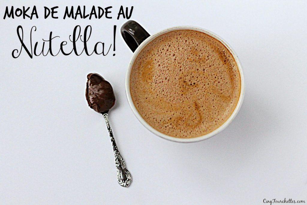 Moka au Nutella réconfortant Cinq Fourchettes