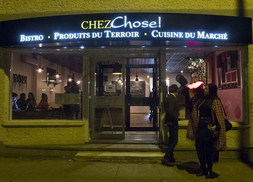 Visite au restaurant Chez Chose! - Cinq Fourchettes