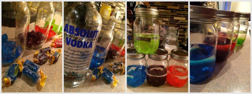 Des bases alcoolisées colorées pour contrer l'ennui - Cinq Fourchettes