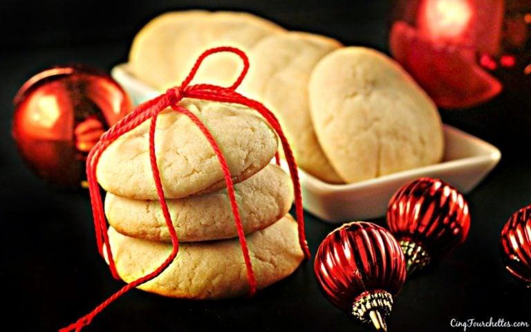 biscuits en pâte à gâteau qui goûtent Noël! - Cinq Fourchettes