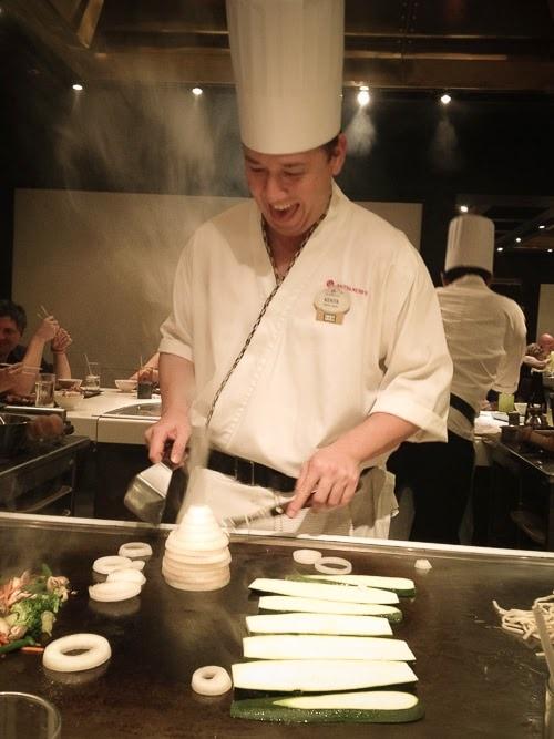 Tepan Edo restaurant à Walt Disney World WDW