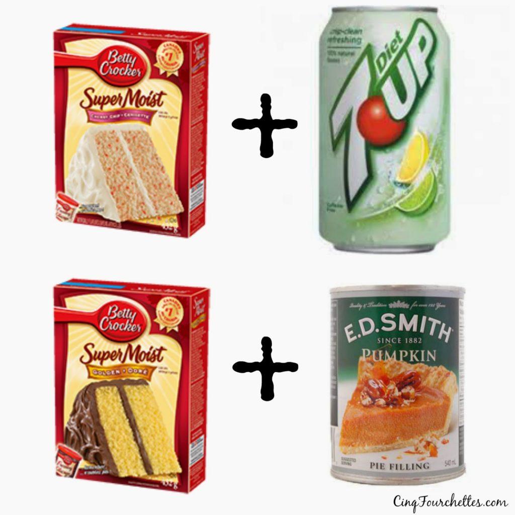 Gâteaux deux ingrédients