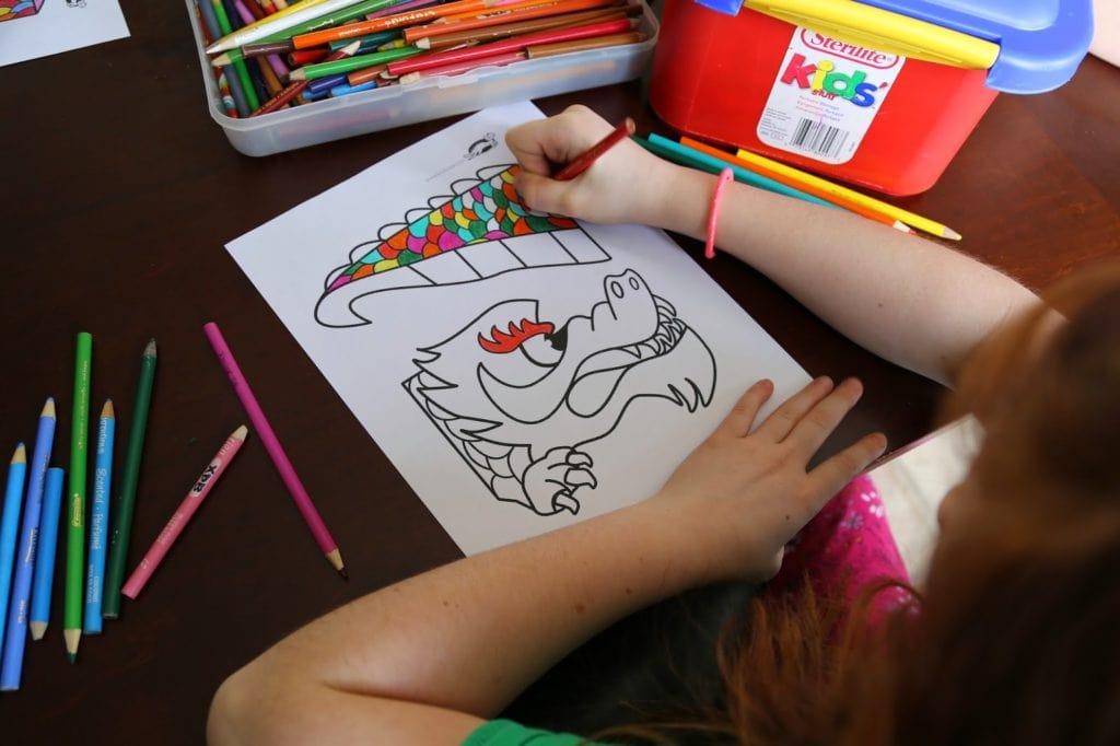 Dragon Bricolage pour fêter le Nouvel an chinois - Cinq Fourchettes