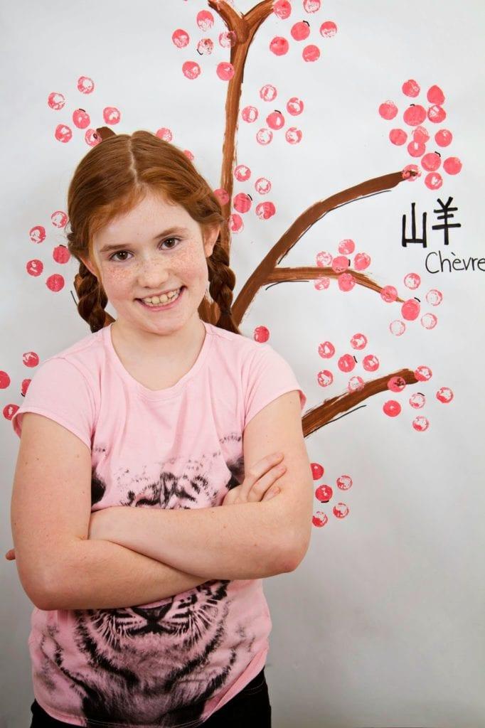 Background à photo Bricolage pour fêter le Nouvel an chinois - Cinq Fourchettes