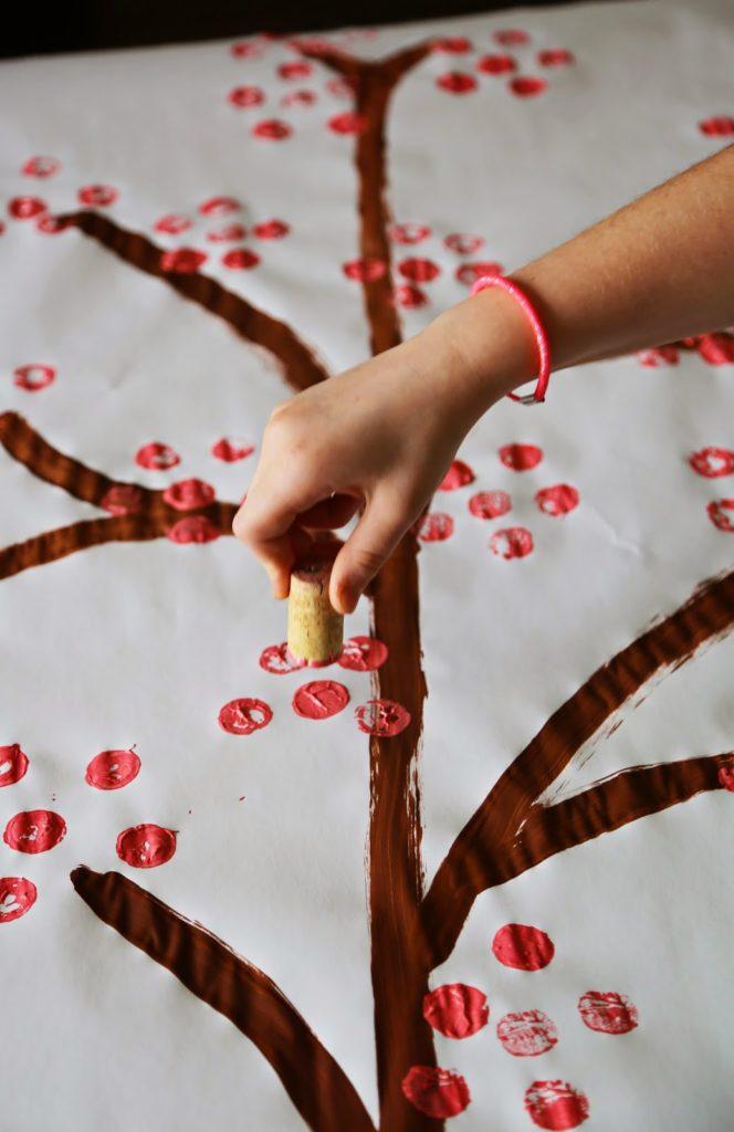 Background à photo Bricolage pour fêter le Nouvel an chinois - Cinq FourchettesBackground à photo Bricolage pour fêter le Nouvel an chinois - Cinq Fourchettes