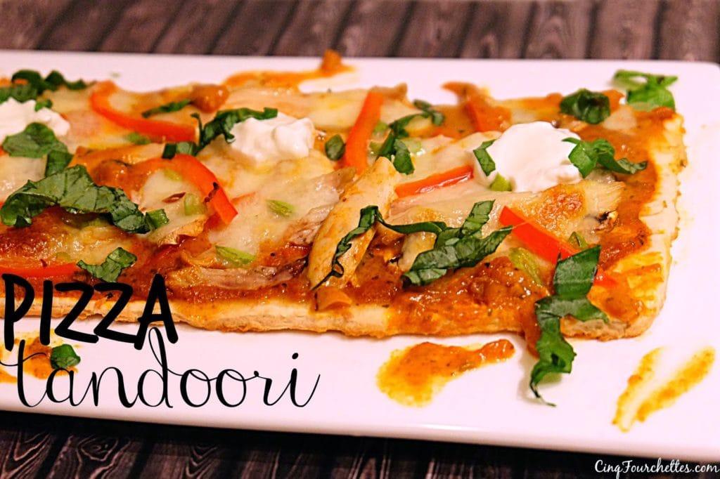Pizza à l'indienne prête en 20 minutes! Cinq Fourchettes