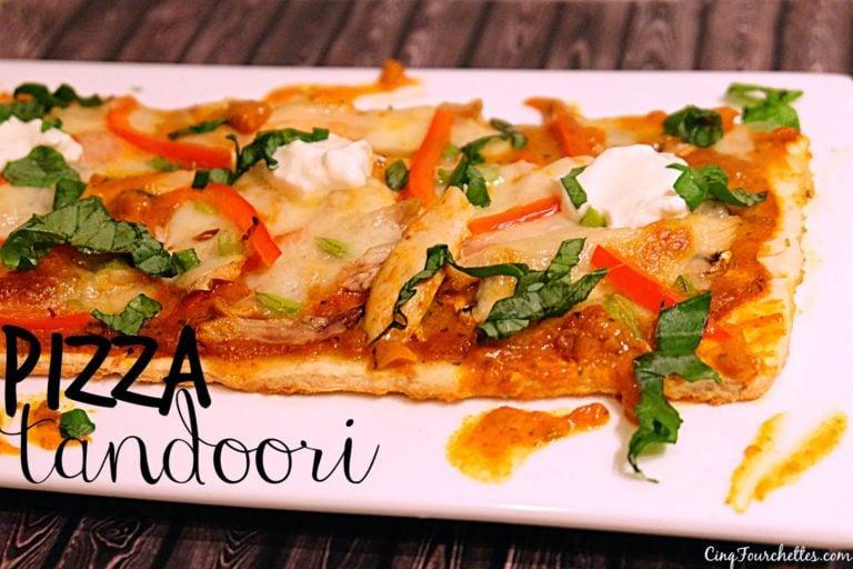 Pizza à l'indienne prête en 20 minutes!