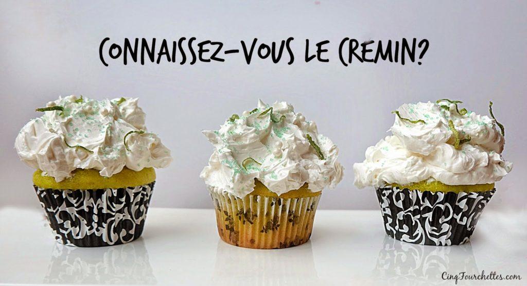 Cupcakes à la lime + mon ingrédient secret : le Cremin! - Cinq Fourchettes