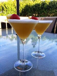 Un p'tit «cinq-à-sept» avec Dame Nature avec ce drink au rhum et noix de coco - Cinq Fourchettes