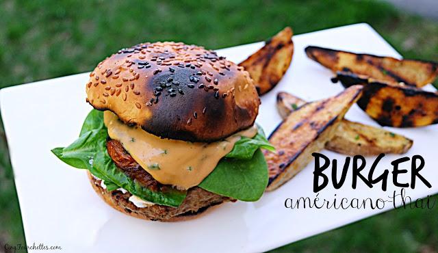 Burgers américains-thaï surprenants! - Cinq Fourchettes
