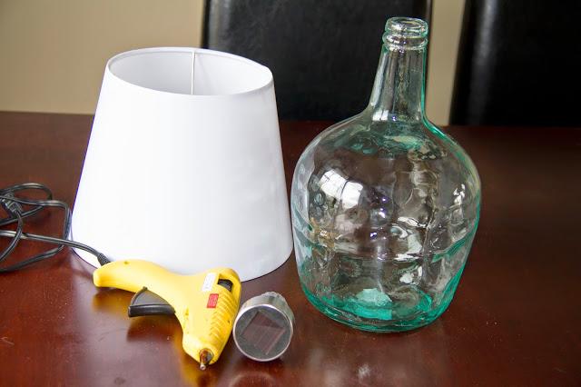 une lampe bistro faire soi m me facile diy cinq fourchettes. Black Bedroom Furniture Sets. Home Design Ideas