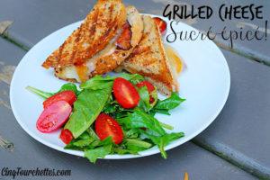 Grilled cheese sucré-épicé - Cinq Fourchettes