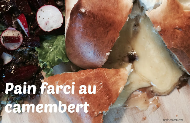Machine à pain : Pain farci au camembert - Cinq Fourchettes