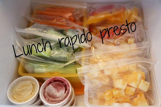 Lunch rapido presto / Cinq Fourchettes