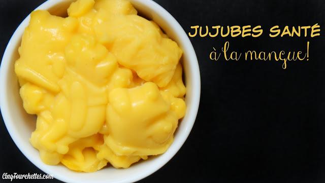 Jujubes santé à la mangue Cinq Fourchettes