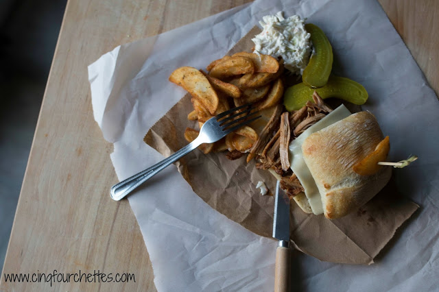 Repas digne d'un resto : Ciabatta au porc effiloché! - Cinq Fourchettes