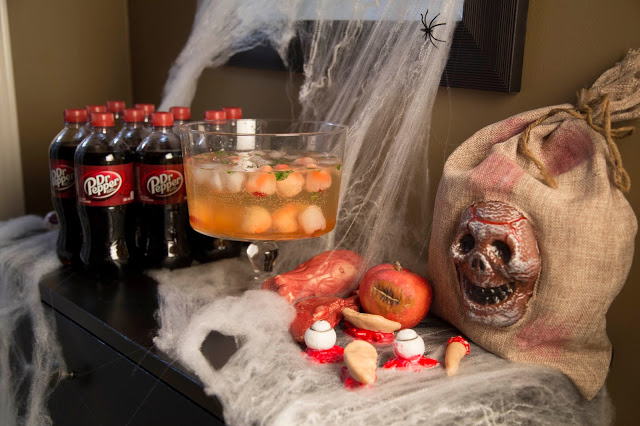 Un party télé bien sanglant pour Halloween !